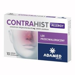 Contrahist Allergy 5mg 10 tabletek