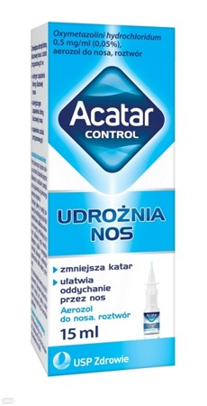 Acatar aerozol 0,5mg/ml 15ml
