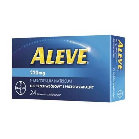 Aleve 220mg 24 tabletei