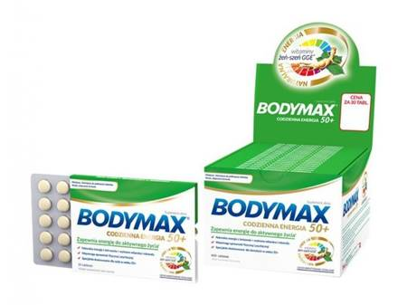 Bodymax Senior 50+ - 600 tabletek