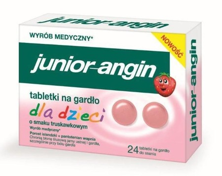 Junior Angin - 24 tabletki