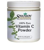 Swanson 100% Pure Vitamin C Powder 454 g